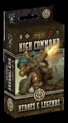 Warmachine: High Command  Heroes & Legends