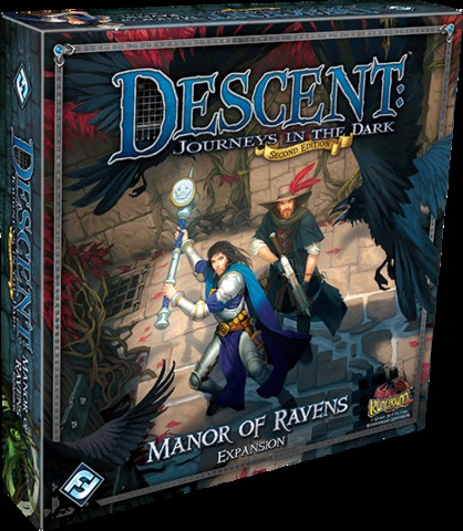 Descent - Manor of Ravens (Journeys in the Dark) - 2nd Edition