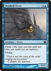 Cloaked Siren - Foil