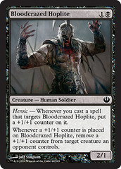 Bloodcrazed Hoplite - Foil on Channel Fireball