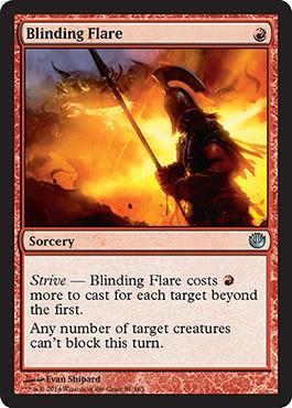 Blinding Flare - Foil