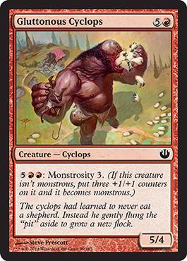 Gluttonous Cyclops - Foil