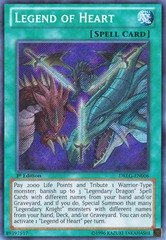 Legend of Heart - DRLG-EN006 - Secret Rare - 1st Edition