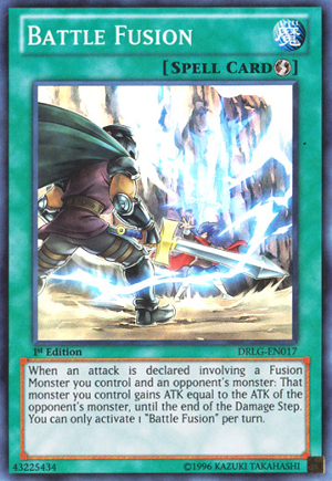 Battle Fusion - DRLG-EN017 - Super Rare - 1st Edition