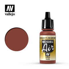 Vallejo Model Air - Acrylic Brown RLM26 - VAL71105 - 17ml