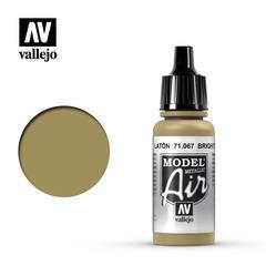 Vallejo Model Air - Bright Brass - VAL71067 - 17ml