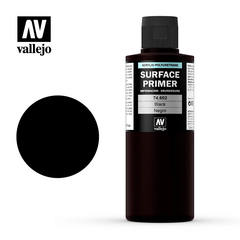 Vallejo Surface Primer - Black - VAL74602 - 200ml