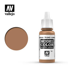VAL70843 Vallejo Model Color Cork Brown 17ml (133)