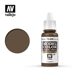 VAL70826 Vallejo Model Color German Camouflage Med. Brown 17ml (145)