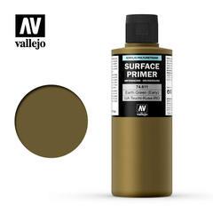 Vallejo Surface Primer - Earth Green - VAL74611 - 200ml