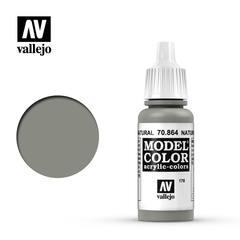 VAL70864 Vallejo Model Color Natural Steel 17ml (178)