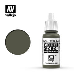 VAL70888 Vallejo Model Color Olive Grey 17ml (092)