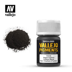 Vallejo Pigments - Carbon Black - VAL73116 - 17ml