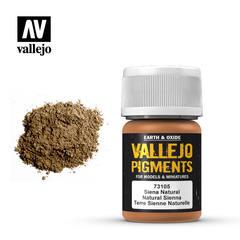 Vallejo Pigments - Natural Siena - VAL73105 - 17ml