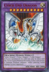 Cyber End Dragon - Green - DL17-EN010 - Rare - Unlimited Edition