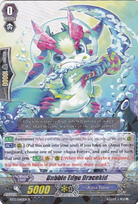 Bubble Edge Dracokid - BT13/040EN - R