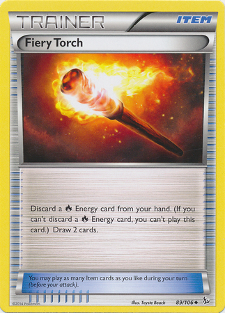 Fiery Torch - 89/106 - Uncommon