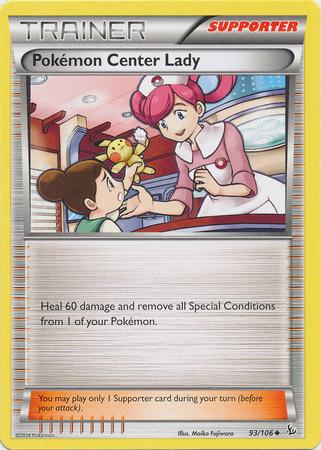 Pokemon Center Lady - 93/106 - Uncommon