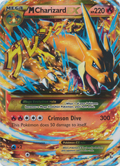Mega-Charizard-EX - 107/106 - Secret Rare