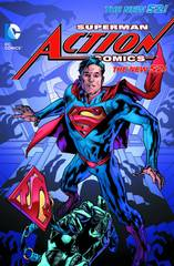 Superman Action Comics Tp Vol 03 At The End Of Days (N52)