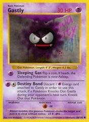 Gastly - 50/102 - Common - Shadowless Edition on Channel Fireball