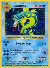 Gyarados - 6/102 - Holo Rare - Shadowless Edition