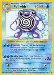 Poliwhirl - 38/102 - Uncommon - Shadowless Edition