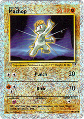 Machop - 79/110 - Common - Reverse Holo