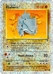 Rhyhorn - 90/110 - Common - Reverse Holo