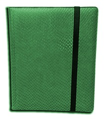 Legion 9 Pocket Dragon Hide Binder - Green