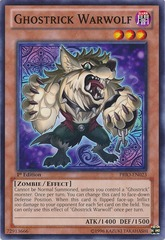 Ghostrick Warwolf - PRIO-EN023 - Common - 1st Edition