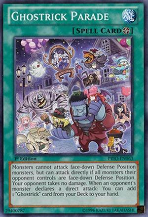 Ghostrick Parade - PRIO-EN063 - Common - 1st Edition