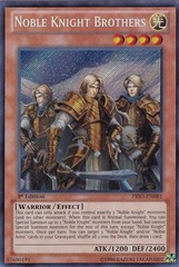 Noble Knight Brothers - PRIO-EN081 - Secret Rare - 1st Edition on Channel Fireball