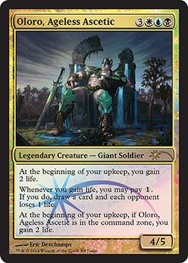 Oloro, Ageless Ascetic (Judge Foil)
