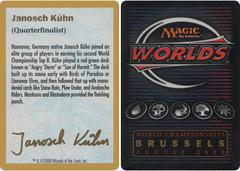 Biography - Janosch Kuhn - 2000