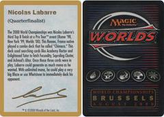 Biography - Nicolas Labarre - 2000