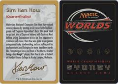 Biography - Sim Han How - 2002