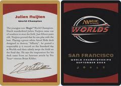 Biography - Julien Nuijten - 2004