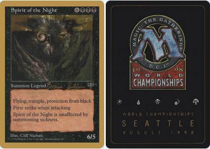 Spirit of the Night - Brian Seldon - 1998