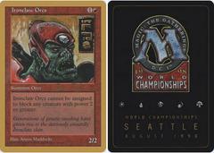Ironclaw Orcs - Ben Rubin - 1998