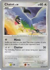 Chatot - 55/100 - World Championship Card