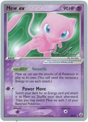 Mew ex - 88/92 - World Championship Card