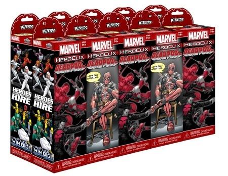 Marvel HeroClix: Deadpool 10 Count Booster Brick