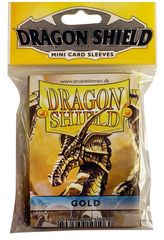 Dragon Shield Mini Card Sleeves (50 ct) - Gold