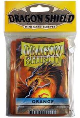 Dragon Shield Mini Card Sleeves (50 ct) - Orange
