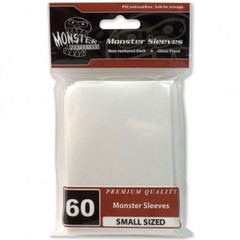 Monster Gloss Small Sleeves (60ct) - White