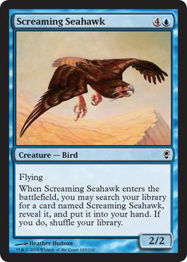 Screaming Seahawk - Foil