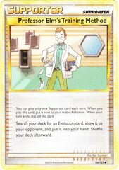 Professor Elm's Training Method - 100/123 - Crosshatch Holo Professor Program Promo