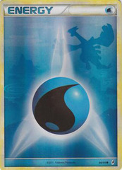 Water Energy - 90 - Promotional - Crosshatch Holo 2011 Player Rewards