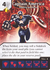 Captain America - American Hero (Card Only)